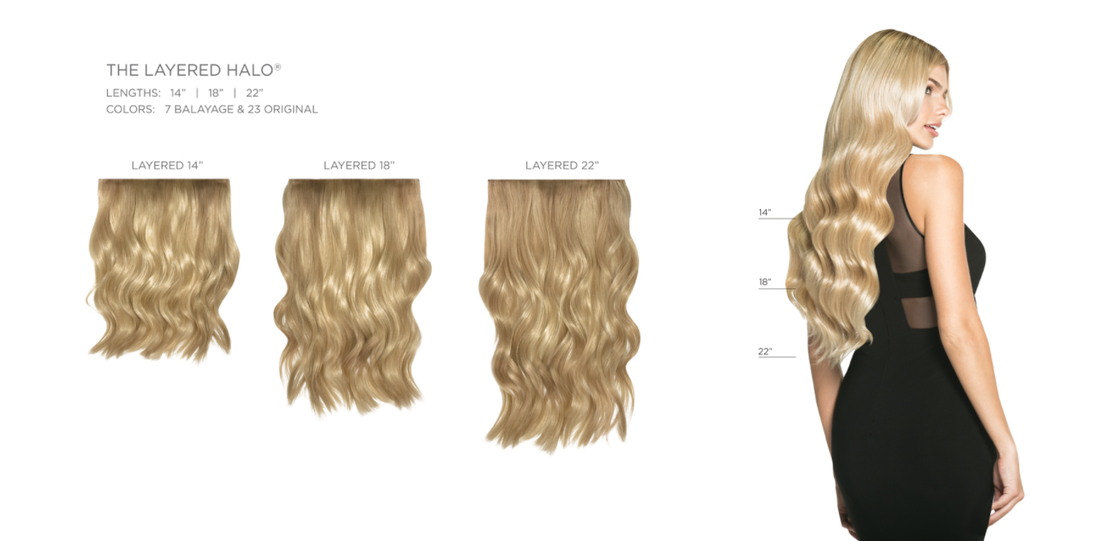 KR Hair Recovery Studio, Halocouture Layered Halo, Orange County